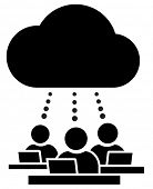 Cloud working group icon