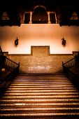 Spanish Renaissance Revival Staircase