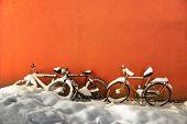Bikes In Winter
