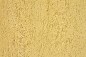 Yellow Real Plaster Texture
