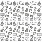Seamless Media Pattern