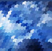 Abstract Blue Azure Background