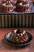 Chocolate Mini Bundt Cake