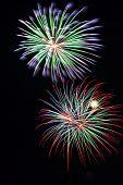Fireworks Double Burst