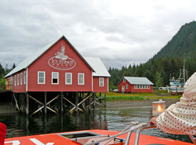 foto of tlingit  - Icy Point Strait and the Tlingit people cater to fishing - JPG