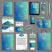 image of letterhead  - Corporate identity template set - JPG