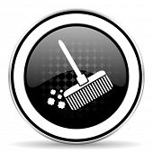 picture of broom  - broom icon - JPG