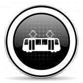 foto of tram  - tram icon - JPG