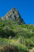 foto of municipal  - Inland Gran Canaria Valsequillo municipality view towards Roque Grande from Tenteniguada - JPG