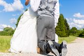 pic of begging  - Groom begging bride for mercy after bridal kidnapping  - JPG