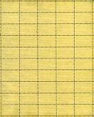 Постер, плакат: Винтажные почтовые марки лист