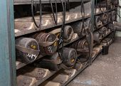 picture of ppe  - Personal protective equipment used by miners in the coal mine - JPG