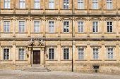 stock photo of bavaria  - Image of Residenz in Bamberg Bavaria Germany in summer - JPG