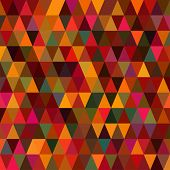 pic of color geometric shape  - Colorful Triangle Abstract Background - JPG