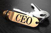 stock photo of key  - CEO  - JPG