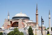 Famous Hagia Sophia in Istanbul