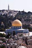 Jerusalem And Mount Of Olives