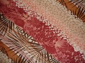 Pattern Pink Brown Orange Jungle