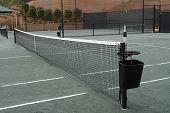 A tennis scene