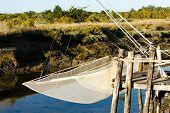 fishing net, Oleron Island, Poitou-Charentes, France