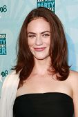 SANTA MONICA - JULY 14: Maggie Siff at the Fox TCA Summer Party in Santa Monica, California on July