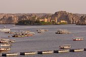 pic of aswan dam  - A view of Philae temple - JPG