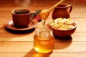 Healthy Breakfast With Honey