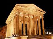 Roman Temple in Nimes (France)