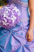 pic of quinceanera  - Purple irradiant Quinceanera  - JPG