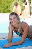 exposição ao sol, piscina