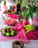 Catering Buffet rojo