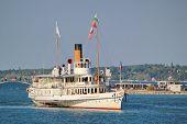Old Steamlboat, Geneva, Switzerland.