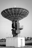 A Radio Antenna Or A Radar Antenna For Air Traffic, Radio Antenna poster