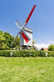 windmill of Terdeghem, Nord-Pas-de-Calais, France