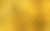 Gold Foil Shiny Paper Texture Background. Can Be Used Wall Paper Decoration Element. - Vector poster