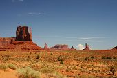 Panoramic Monument Valley
