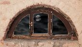 Old Semicircular Window