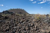 View Of Lava Butte In Lava Lands At Newberry National Volcanic Monument In Central Oregon poster