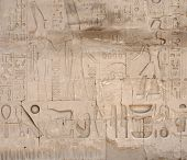 Relief At Precinct Of Amun-re In Egypt