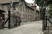 stock photo of auschwitz  - Auschwitz - JPG