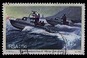South Africa Postage Stamp Harbour Patrol Boats 1982