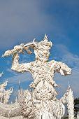 messenger of death statue