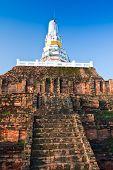 Постер, плакат: Белая Пагода в храме