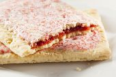 Hot Strawberry Toaster Pastry