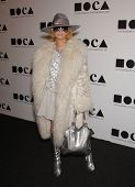 LOS ANGELES - NOV 12:  LINDA RAMONE arriving to MOCA Annual Gala 2011  on November 12, 2011 in Los A