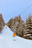 Berge Ski Resort Zell am see, Österreich