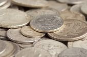 Shiny Silver Coins