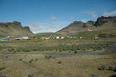 Постер, плакат: Вик Деревня Южное побережье Исландии
