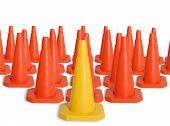 Arny Of Traffic Cones
