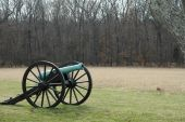 Civil War Cannon at Battle of Bull Run/Manassas